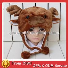 faux fur animal winter hat wholesale cute winter bear animal winter hat