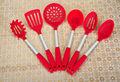 Nuovi prodotti colorato eco-in silicone amichevole utensili da cucinaingrosso