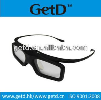 RF TV 3D Stereo eyewear Built-in Rechargeable Battery
