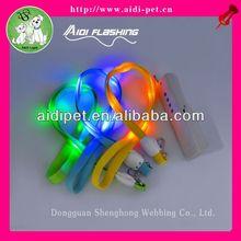 LED flashing lanyard attachment clip