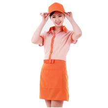 custom restaurant hotel waiter waitress uniform factory for work wear cheap workwear for woman