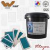 Acid resistant, anti etching photosensitive emulsion for mesh