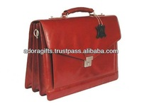 ADALCB - 0031 unique design laptop cases and bags / wholesale attractive pretty laptop bags / oem laptop bags in red leather