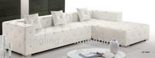 LK-3569 leather sofa set designs purple sectional sofa