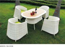 4 seat green cushion patio conversation furniture set garden set vintage