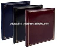 ADAPAC - 0037 latest wedding photo album design / high standard leather photo album cover / promotional blank photo book albums