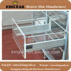 Auto closing drawer slide,kitchen drawer slide,bathroom cabinet drawer slide