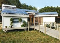Bluesun high quality single axis solar tracker system