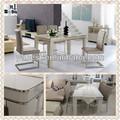 elegante escandinavos vidro sala de jantar móveis 207