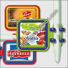 Memo-clip with pen holder / promotional memo clip
