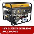 aprovado fabricante oem 7 kva gerador elétrico set