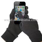smart glove/touch screen glove/conductive phone in winter