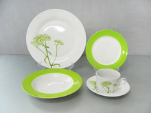Good Quality Stock Price Porcelain/Cheap Porcelain dinner Plate/Chinese Porcelain Dinnerware