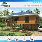light steel framing wooden houses prefabricated