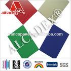 white aluminium composite panel roof/aluminum construction material