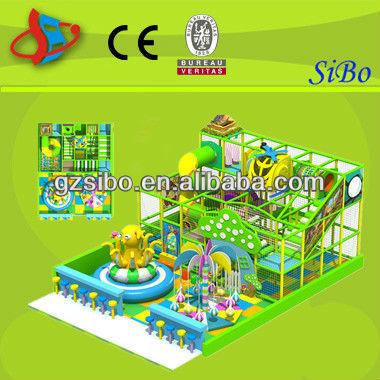 GM070319B Indoor two floor kids Labyrinth Playground