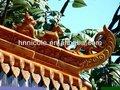 Chinois en céramique classique mosquée temple pagode, Pavilion