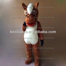 christmas hot sale Horse cartoon Mascot Costume animal performance costume advertising mascot costume