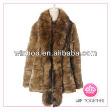 whole sale rabbit faux fur vest for women