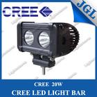 china supplier factory price 20w cree led driving light,12v led tractor light bar,waterproof light bar for UTV SUV boat mining
