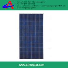 EVA thin film solar panel 100w , poly solar power panels made in china