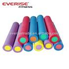 Wholesale double color PE foam roller.