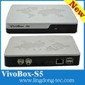 çift çekirdekli alıcısı android 4.2 tv kutusu medya oynatıcı online medya flama akıllı tv kutusu +dvb- s2 alıcı vivobox s5 air mouse