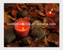 Led lighted wall hanging decoration