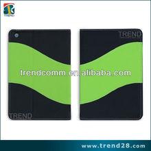 china new product 2 tone color for ipad mini leather case