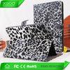 stand pu leopard case for ipad air case