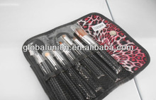 7pcs Goat Hair Professional Cosmetic Brush Set with Private Label and Cheapest Price Cosmetic Brush Set
