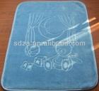 100% polyester mink BABY blanket solid color emboss design