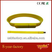 promotional gift usb 4gb wristband flash memory drive