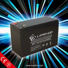 high quality made in China UPS lead acid battery 12V 7Ah manufacturer