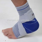 knitting sport ankle support padded colored elastic ankle support