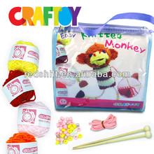 Art & crafts knitting doll Rabbit kit