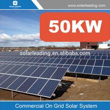 Sri Lanka for commercial solar panel systems complete 50KW Solar Power Kit of Renewable Energy