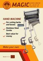 Hand Machine Tobacco Shredder