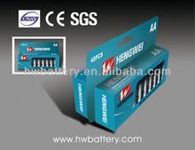 Battery Packs AA 1.5V ALKALINE BATTERY LR6-40/PAPER BOX