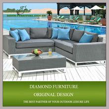 2014 design morden rattan round outdoor furniture