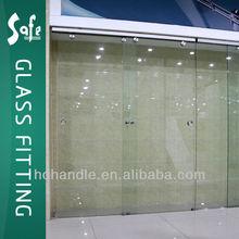 Stainless steel hanging glass door hardware series sliding glass door kit