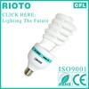 china supplier lamp E27 CFL energy saving lamp half spiral lighting tube