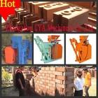 2014 crazy price!!! small cement interlocking block hollow brick making machine in China