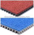 Huadongtrack fabricante profesional, la iaaf sintético prefabricados de atletismo pista de atletismo 400 suelo medidor estándar de campo