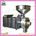 industrial de acero inoxidable de la máquina para moler café