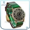 2013ผู้หญิงแฟชั่นขายร้อนสแตนเลสเหล็กที่กำหนดเองราคาถูกmp4นาฬิกาที่ใช้