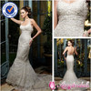 SA4110 Sexy Lace Vintage Backless Spaghetti Strap Sweetheart Mermaid Wedding Dress Crochet Wedding Dresses