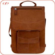 Designer men's vintage leather laptop bag