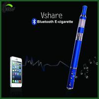Unique patent bluetooth ecig vshare/bluetooth vaporizer vshare/vshare e cigarette mod torpedo