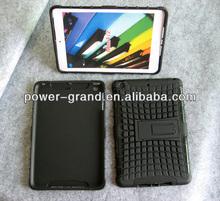 PC and TPU Stand armor case for iPad Mini 2